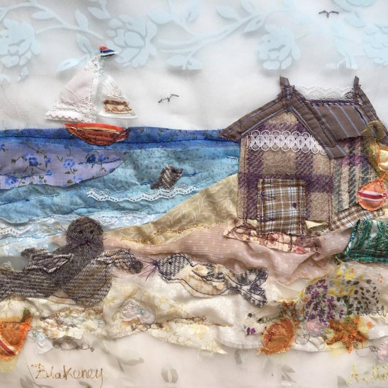 Abigail Mill Embroidery - Embroidered textile art by local artist Abigail Mill. Ranging from framed originals, prints and handmade cards to giftware and embroidery kits; all inspired by the local coastline and countryside. - Deepdale Christmas Market at Dalegate Market | Shopping & Cafe - Friday 1st, Saturday 2nd & Sunday 3rd December 2017 - Christmas shopping for presents, decorations and great food & drink from 120+ stalls in large marquees around the Dalegate Market shops & café and in St Marys Church at the Deepdale Christmas Market, North Norfolk Coast