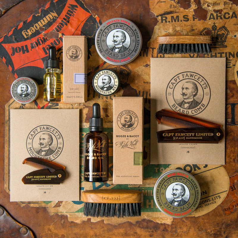 Captain Fawcett Ltd - Herein lies Captain Fawcett's Emporium, home to a simply delectable range of First Class Gentleman's Grooming Requisites.  - Deepdale Christmas Market at Dalegate Market | Shopping & Cafe - Friday 1st, Saturday 2nd & Sunday 3rd December 2017 - Christmas shopping for presents, decorations and great food & drink from 120+ stalls in large marquees around the Dalegate Market shops & café and in St Marys Church at the Deepdale Christmas Market, North Norfolk Coast