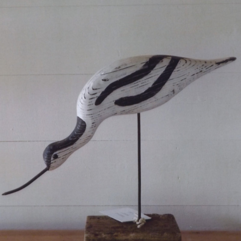Driftwood Birds - Brian is norfolks premier carver of shorebirds and seabirds made entirely from the driftwood that he and his partner Linda collect from the estuaries of east Anglia and sometimes beyond. - Deepdale Christmas Market at Dalegate Market | Shopping & Cafe - Friday 1st, Saturday 2nd & Sunday 3rd December 2017 - Christmas shopping for presents, decorations and great food & drink from 120+ stalls in large marquees around the Dalegate Market shops & café and in St Marys Church at the Deepdale Christmas Market, North Norfolk Coast