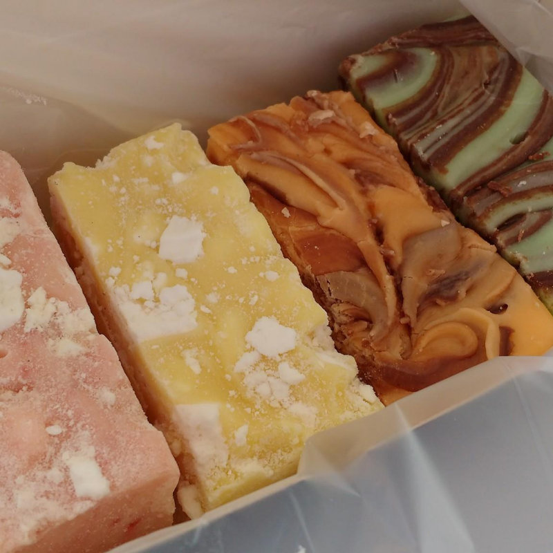 The Fudge Cart - Handmade Artisan fudge, in a range of traditional and Christmas flavours. Gift boxes and hampers also available - Deepdale Christmas Market at Dalegate Market | Shopping & Cafe - Friday 1st, Saturday 2nd & Sunday 3rd December 2017 - Christmas shopping for presents, decorations and great food & drink from 120+ stalls in large marquees around the Dalegate Market shops & café and in St Marys Church at the Deepdale Christmas Market, North Norfolk Coast