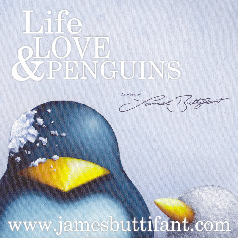 Artwork by James Buttifant - These very collectable limited edition prints of James Buttifant's own charming take on our lives through the eyes of endearing penguins will also be joined by his hugely popular hand decorated mugs. - Deepdale Christmas Market - Christmas shopping for presents, decorations and great food & drink from 100+ stalls in large marquees around the Dalegate Market shops & caf� and in St Marys Church - A fabulous start to the festive season & a great reason to visit the beautiful North Norfolk Coast, England, UK - Friday 2nd, Saturday 3rd & Sunday 4th December 2016