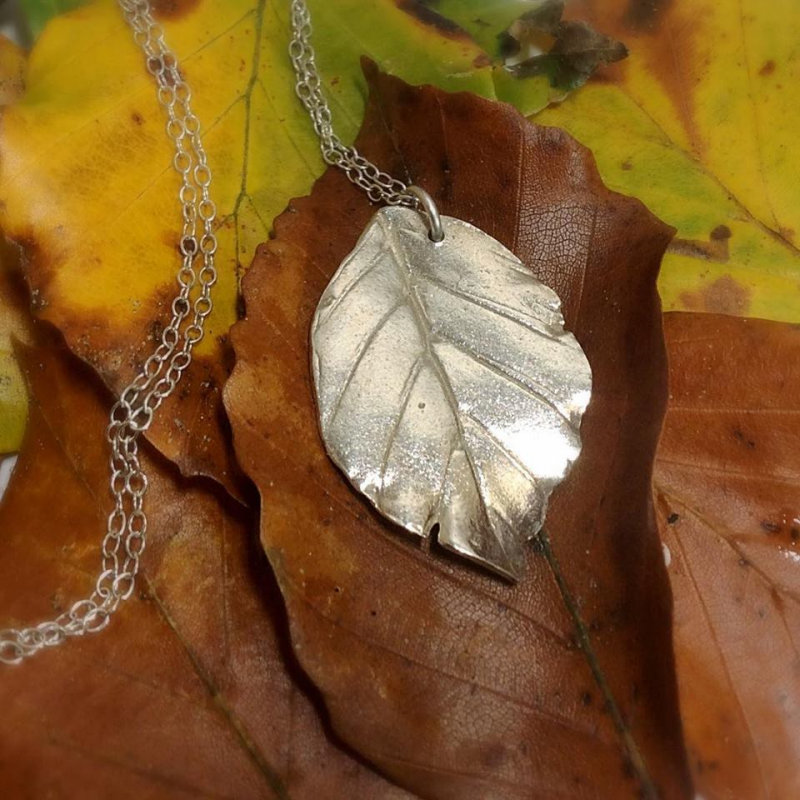 La Lievre Jewellery - Delicate, ethereal pieces of jewellery each with its own story to tell. Find your inner fairy with real leaves in silver, animal designs and fairytale whimsy  - Deepdale Christmas Market - Christmas shopping for presents, decorations and great food & drink from 100+ stalls in large marquees around the Dalegate Market shops & café and in St Marys Church - A fabulous start to the festive season & a great reason to visit the beautiful North Norfolk Coast, England, UK - Friday 2nd, Saturday 3rd & Sunday 4th December 2016