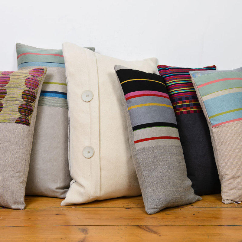 Laura Fletcher Textiles - A collection of woven home accessories and gifts, all made in Suffolk using natural yarns and textures. Stripes, geometrics and checks in wool, cotton and linen,inspired by nature and sea scapes. - Deepdale Christmas Market at Dalegate Market | Shopping & Cafe - Friday 1st, Saturday 2nd & Sunday 3rd December 2017 - Christmas shopping for presents, decorations and great food & drink from 120+ stalls in large marquees around the Dalegate Market shops & café and in St Marys Church at the Deepdale Christmas Market, North Norfolk Coast