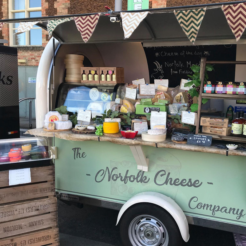 The Norfolk Cheese Company  - The Norfolk Cheese Company ltd is a cheese specialist which is pleased to supply you with a vast selection of Norfolk cheeses - Deepdale Christmas Market at Dalegate Market | Shopping & Cafe - Friday29th, Saturday 30th November and Sunday 1st December 2019 - Christmas shopping for presents, decorations and great food & drink from 130+ stalls in large marquees around the Dalegate Market shops & café and in St Marys Church at the Deepdale Christmas Market, North Norfolk Coast