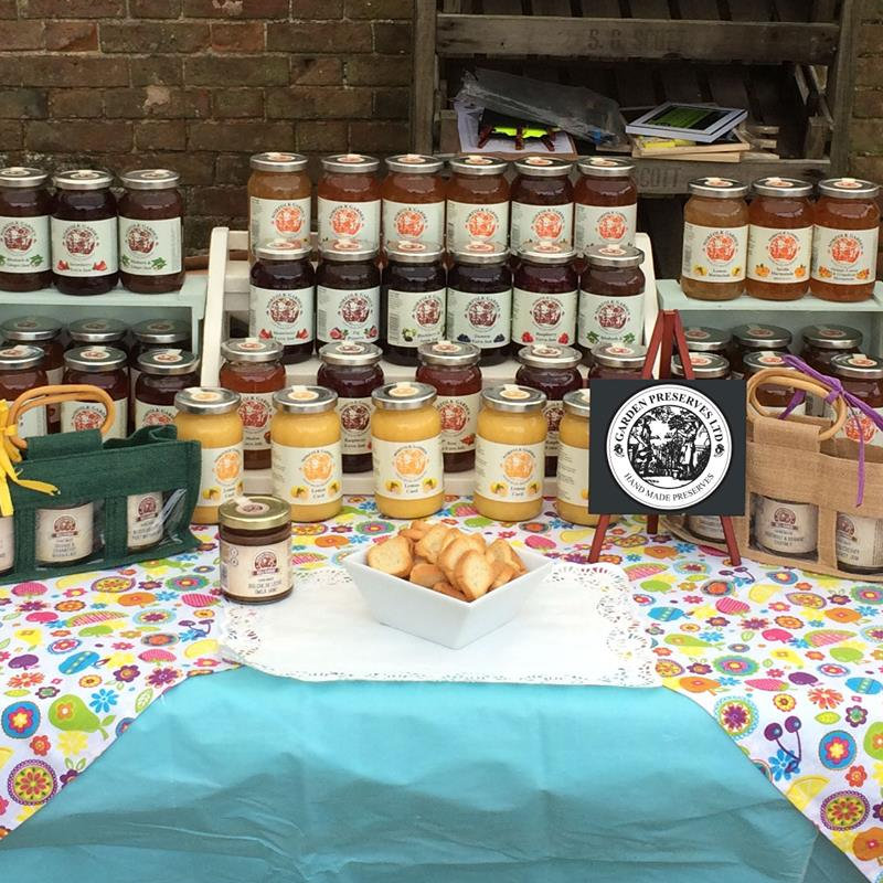 Norfolk Garden Preserves Ltd - A selection of handmade preserves, chutneys, Marmalades and more.   Produced in Norfolk we have a traditional range of preserves as well as a more unusual selection in our Deli Range.   - Deepdale Christmas Market at Dalegate Market | Shopping & Cafe - Friday 1st, Saturday 2nd & Sunday 3rd December 2017 - Christmas shopping for presents, decorations and great food & drink from 120+ stalls in large marquees around the Dalegate Market shops & café and in St Marys Church at the Deepdale Christmas Market, North Norfolk Coast