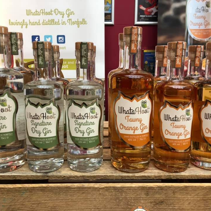 WhataHoot  - WhataHoot a small batch distillery located on the Sandringham Estate.  Norfolk is our passion and out recipe reflects our local area. WhataHoot encouraging you to drink gin your way #whatsyourhoot - Deepdale Christmas Market at Dalegate Market | Shopping & Cafe - Friday 3rd to Sunday 5th December 2021 2019 - Christmas shopping for presents, decorations and great food & drink from 130+ stalls in large marquees around the Dalegate Market shops & café and in St Marys Church at the Deepdale Christmas Market, North Norfolk Coast