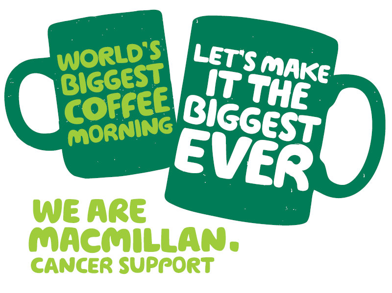 Worlds Biggest Coffee Morning, Brancaster Village Hall, Main Road, PE31 8AA | For the 4th year running we are running a fab Macmillan Coffee Morning.  Do join us! | Coffee morning, fundraiser, Macmillan