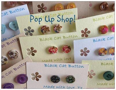 Pop Up Shops | Here on the North Norfolk Coast we like to mix beautiful coast & countryside with a bit of retail therapy. Dalegate Market will host Black Cat Button in the pop up shops this week. - Dalegate Market | Shopping & Café, Burnham Deepdale, North Norfolk Coast, England, UK