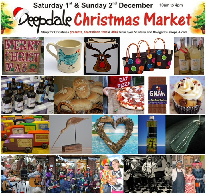 Christmas Starts in a Week! – Deepdale Christmas Market - Is there a better way to start the Festive Season than a days Christmas shopping at the Deepdale Christmas Market? - Dalegate Market | Shopping & Café, Burnham Deepdale, North Norfolk Coast, England, UK