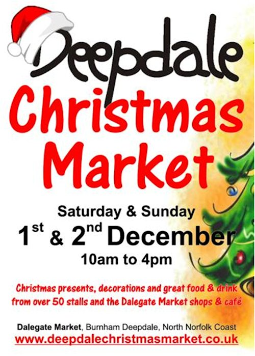 The Sun is Shining & We're Preparing for Christmas - Preparations for the Deepdale Christmas Market are almost complete, 4 months in advance of the festive weekend.   - Dalegate Market | Shopping & Café, Burnham Deepdale, North Norfolk Coast, England, UK