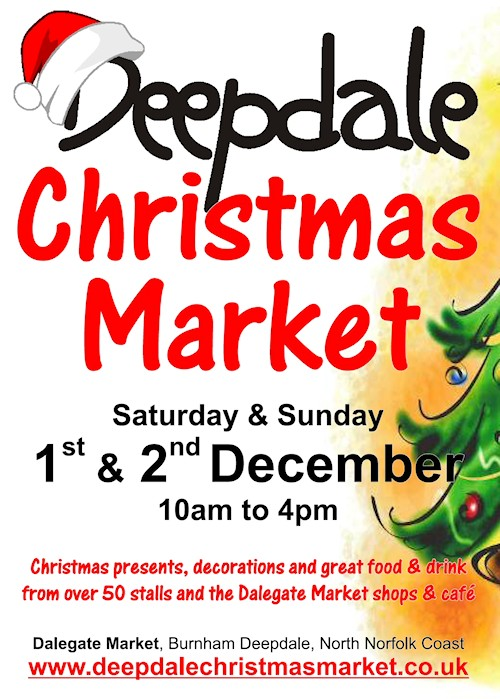 Christmas Starts in a Week! – Deepdale Christmas Market | Is there a better way to start the Festive Season than a days Christmas shopping at the Deepdale Christmas Market?