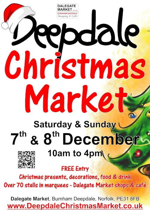Good News: Deepdale Christmas Market Going Ahead | We are pleased to say that Dalegate Market was unaffected by the weather and storm surge of last night, and that Deepdale Christmas Market is going ahead as planned.