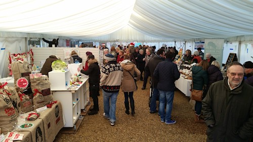 Deepdale Christmas Market 6th Year - Huge Success | The 6th annual Deepdale Christmas Market is now just a memory, as the presents bought are wrapped, the decorations brighten up homes and visitors wish they'd bought more of the lovely food & drink having already consumed them.