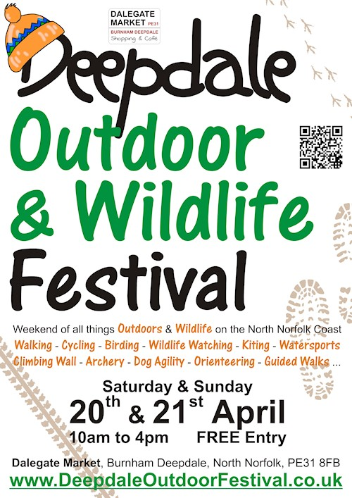Enjoying the North Norfolk Coast and it's Wildlife | The highlights of the North Norfolk Coast include the coastline, countryside and wildlife, so we decided to celebrate this with the Deepdale Outdoor & Wildlife Festival, a weekend of all things outdoors & wildlife.