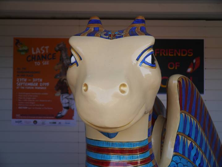 GoGoKingTut's North Norfolk Holiday | GoGoKingTut has returned to his beach hut at Dalegate Market in Burnham Deepdale on the beautiful North Norfolk Coast for a few days rest and relaxation.