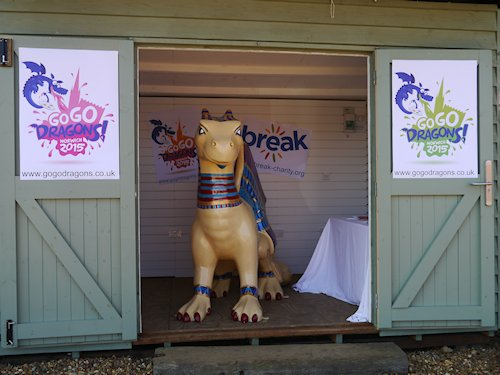GoGoDragon King Tut Visit, Beach Hut, Dalegate Market, Burnham Deepdale, North Norfolk Coast, PE31 8FB | Dalegate Market is hugely proud to be hosting GoGoDragon King Tut for a few days holiday before he joins the rest of the Dragons for the GoGoDragon Trail in Norwich. | dragons, gogodragons, dalegate market, burnham deepdale, north norfolk coast, friends, iceni, collective, break, charity