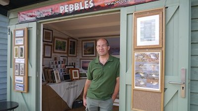 The first pop up shop at Dalegate Market by Pebbles Photography & Picture Framing - Pop Up Shops at Dalegate Market, Burnham Deepdale, Norfolk, PE31 8FB, England, United Kingdom, UK