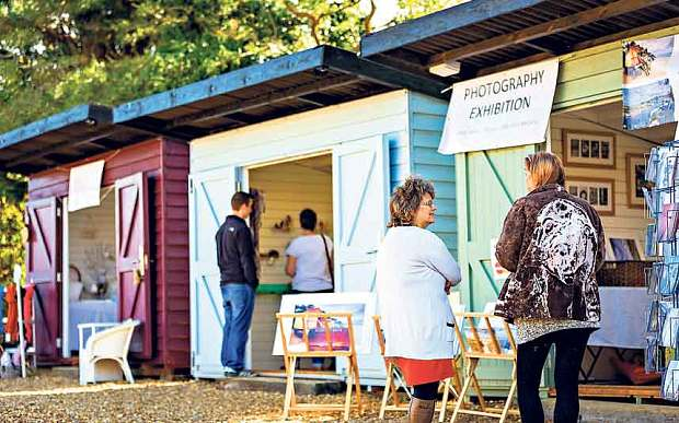 The pop-up shops preventing a village from becoming 'dead' zone - Artisan makers are helping a tiny village keep its community alive - Dalegate Market | Shopping & Café, Burnham Deepdale, North Norfolk Coast, England, UK