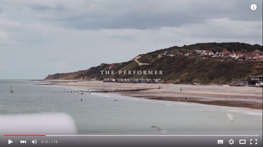 Visit North Norfolk August Film - The Performer #YEAROFDISCOVERY | Meet Ben Langley, comedy writer and performer in this year's Cromer Pier Show - now the ONLY 'End of the Pier' variety show in Europe.