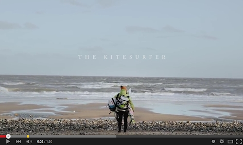 Visit North Norfolk January Film - The Kitesurfer #YEAROFDISCOVERY | Meet Keira, a graphic designer who loves kitesurfing.  So much so she moved to North Norfolk and fell in love with the expansive beaches and relatively undiscovered surf.
