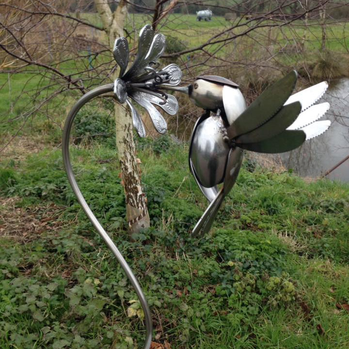 Acorn Forge - Unique handmade sculptures for the home and garden inspired by the natural world. All made locally from recycled materials. - Deepdale Spring Market | Friday 27th to Sunday 29th March 2020