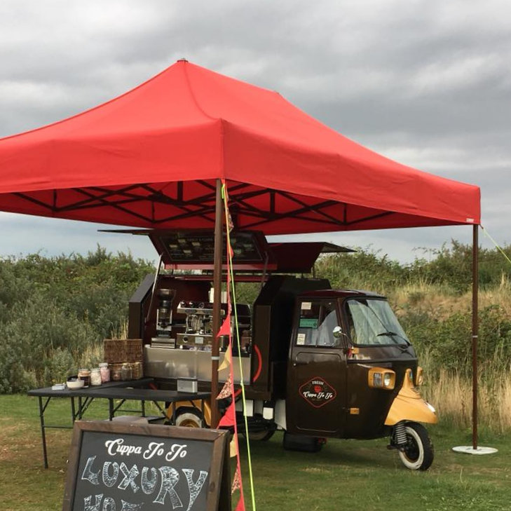 Cuppa Jo Jo - Luxury Hot Drinks, handmade hot chocolate, gluten free snack bars and coffee syrups, choice of non dairy milks - North Norfolk Hygge Fair - Friday 27th to Sunday 29th March 2020