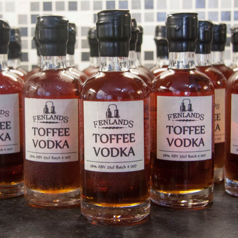 Fenspirits  - A family owned Distillery producing Vodka Gin and Rum, from scratch. Our range includes our most popular Toffee Vodka  - Deepdale Spring Market | Friday 27th to Sunday 29th March 2020