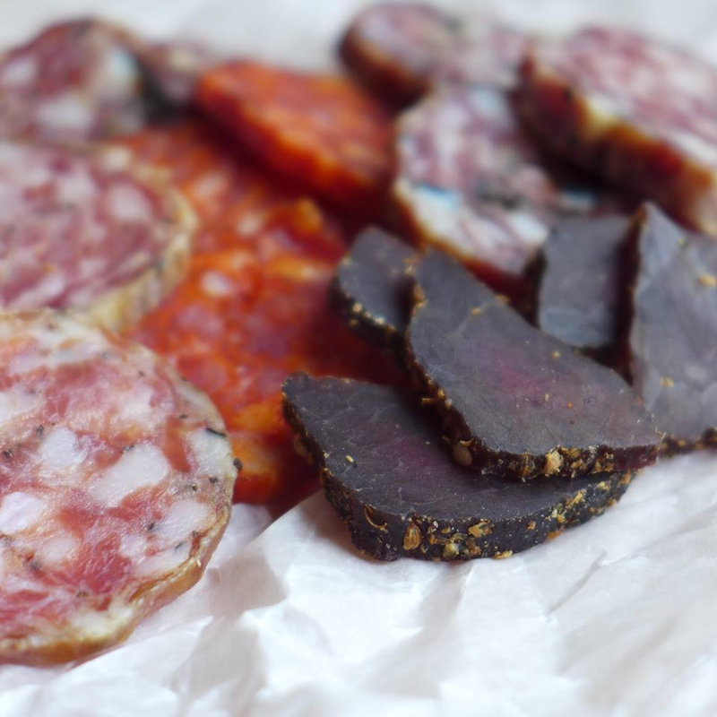 Norfolk Charcuterie - Handmade  charcuterie from Burnham Thorpe.. Provenenace is important to us so the pork we use is from a small scale producer in South  Creake & the venison from Holkham; both less than 6miles away. - Deepdale Spring Market | Friday 23rd to Sunday 25th March 2018