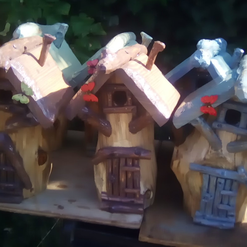 Ray's Bird Tables & Nesting Boxes - Artisan bespoke bird nesting boxes & feeders, bug hotels & fairy houses and toadstools, along with handcrafted 3d decoupage cards - Deepdale Spring Market   Friday 29th to Sunday 31st March 2019