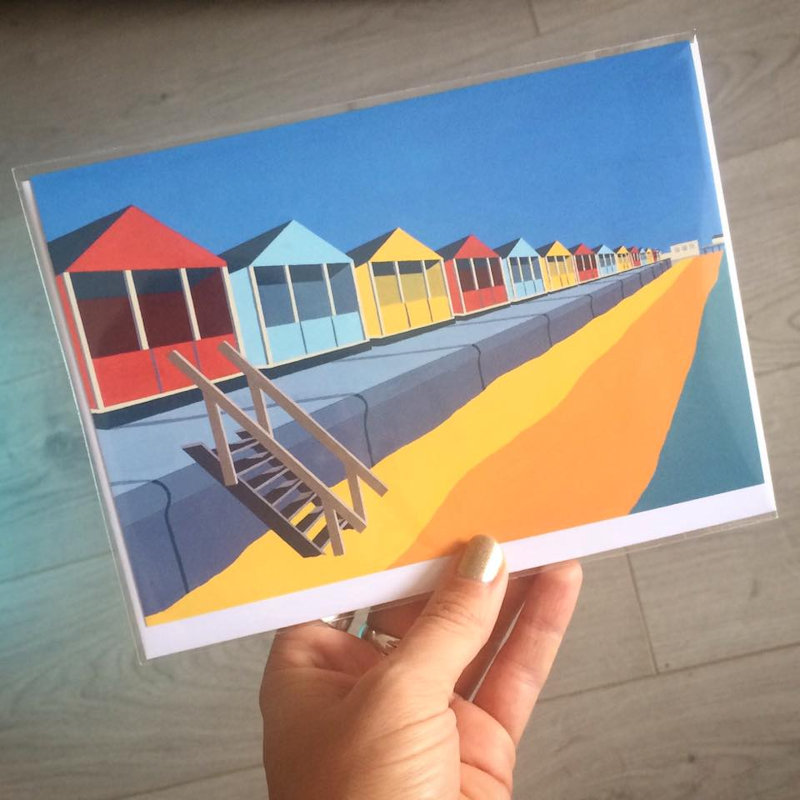 Rebecca Pymar Fine Art and Design - I create paintings and illustrations of Coastal and Architectural scenes in and around the Norfolk and Suffolk Coast. I work in a stylised, graphic style and use a bright vibrant colour palate. - Deepdale Spring Market | Friday 23rd to Sunday 25th March 2018