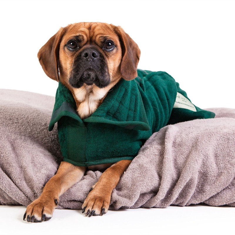 Ruff And Tumble - Cotton Towelling Dog Drying Coats, Drying mitts, Bed covers and sofa throws. Luxuriously soft Dog Drying products. Protect your house and car from wet dog shake off! Making life with wet dogs Easier. - Deepdale Spring Market | Friday 29th to Sunday 31st March 2019