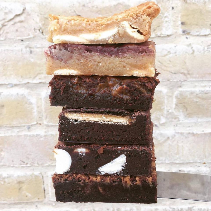 Simply Cake Co. - Handmade artisan brownies and other sweet treats.  Made with local free range eggs, proper butter and packed full of Belgian chocolate! - Deepdale Spring Market | Friday 29th to Sunday 31st March 2019