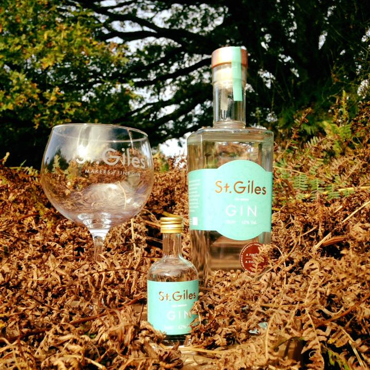 St. Giles Gin - Distilled in Norfolk in a custom-made copper still. Our unique blend of 11 botanicals includes grains of paradise, lemongrass and rose petals creating a super smooth, light and refreshing gin. - Deepdale Spring Market   Friday 29th to Sunday 31st March 2019