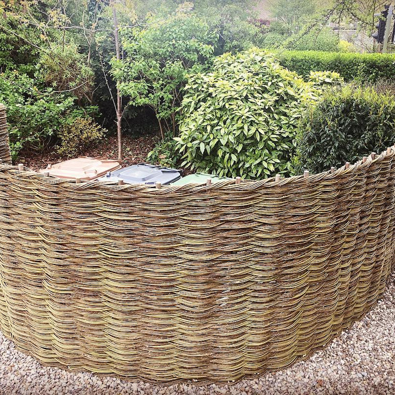 Willow Twist - Bespoke Willow Fencing and Willow garden products. All commissions welcome. Willow weaving demonstrations on show days.  - Deepdale Spring Market | Friday 27th to Sunday 29th March 2020