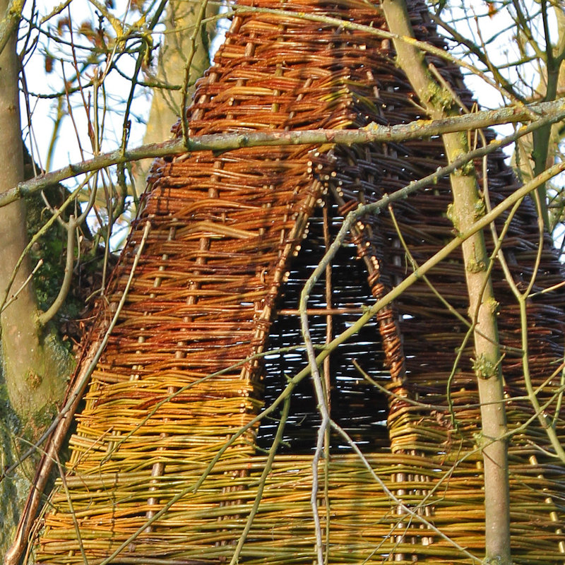 WonderWood Woven Fencing - We offer a wide range of hand woven willow products including continuous woven fencing, oak framed woven willow panels and gates, oil tank & wheelie bin screens, and privacy extensions. - Deepdale Spring Market | Friday 27th to Sunday 29th March 2020